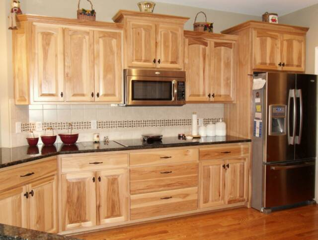 Kitchen Colors with Hickory Cabinets